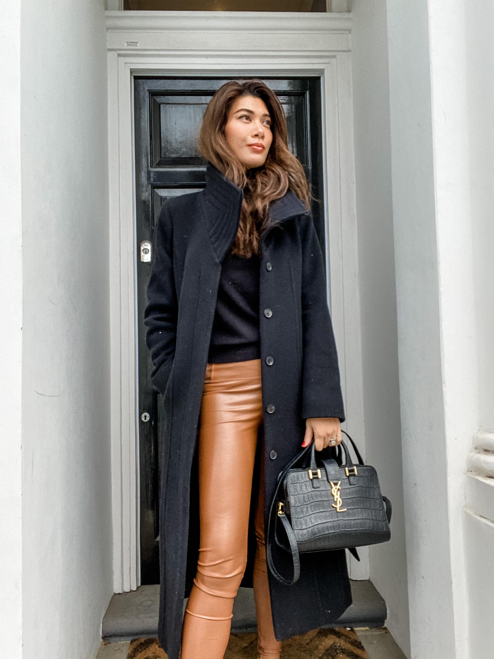 Chic & Warm in Aritzia & Zara